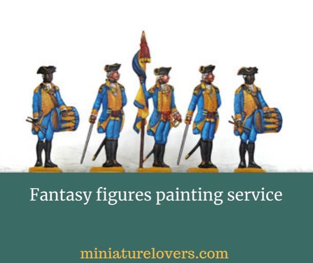 Watch and share Fantasy Figures Painting Service GIFs by miniaturelovers on Gfycat