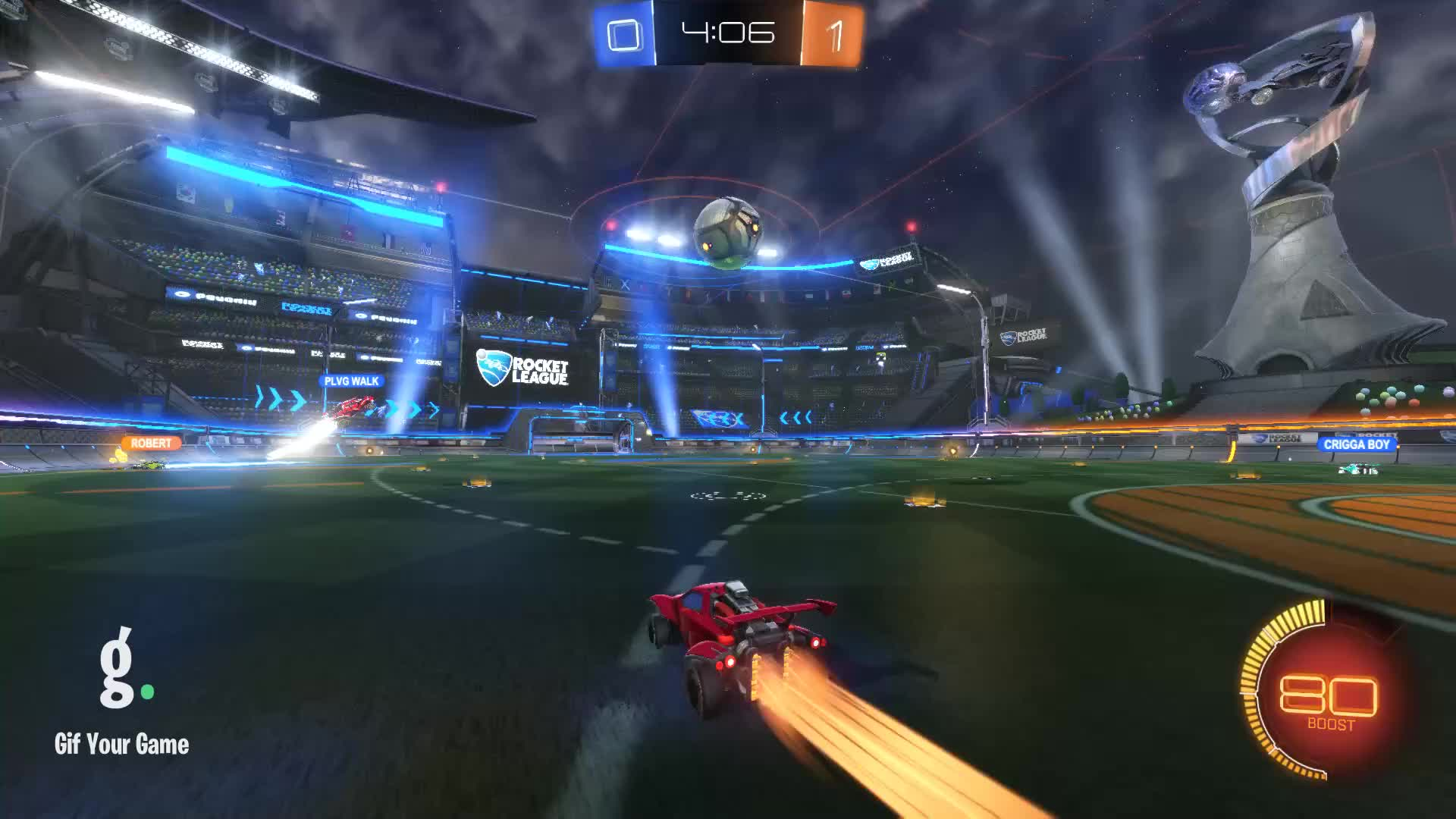 Gif Your Game, GifYourGame, Goal, Rocket League, RocketLeague, SwiftTime0, Goal 2: SwiftTime0 GIFs