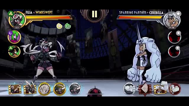 Watch Filia Combo Contest GIF by Skullgirls Mobile (@sgmobile) on Gfycat. Discover more Skullgirls, Skullgirls Mobile, sgmobile GIFs on Gfycat