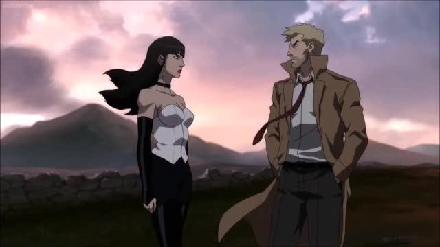 Watch Zatanna and Constantine to join the Justice League - Justice League Dark GIF on Gfycat. Discover more batman, constantine, deadman, etrigan, justice league, justice league dark, superman, swamp thing, why batman, zatanna GIFs on Gfycat