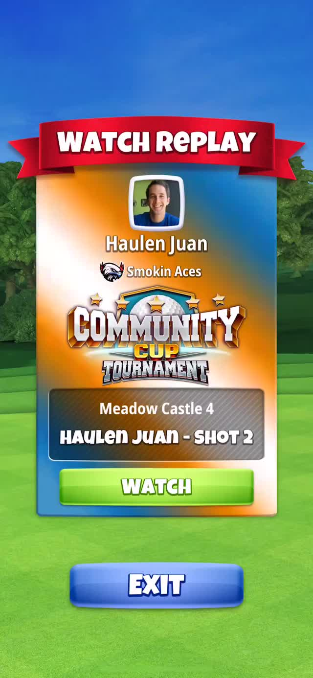 Watch Community Cup - Masters - Hole 1 Chip-in HJ GIF on Gfycat. Discover more related GIFs on Gfycat