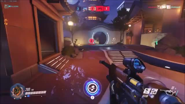 Watch Pharah has odd bedtime habits. GIF on Gfycat. Discover more ana, overwatch GIFs on Gfycat