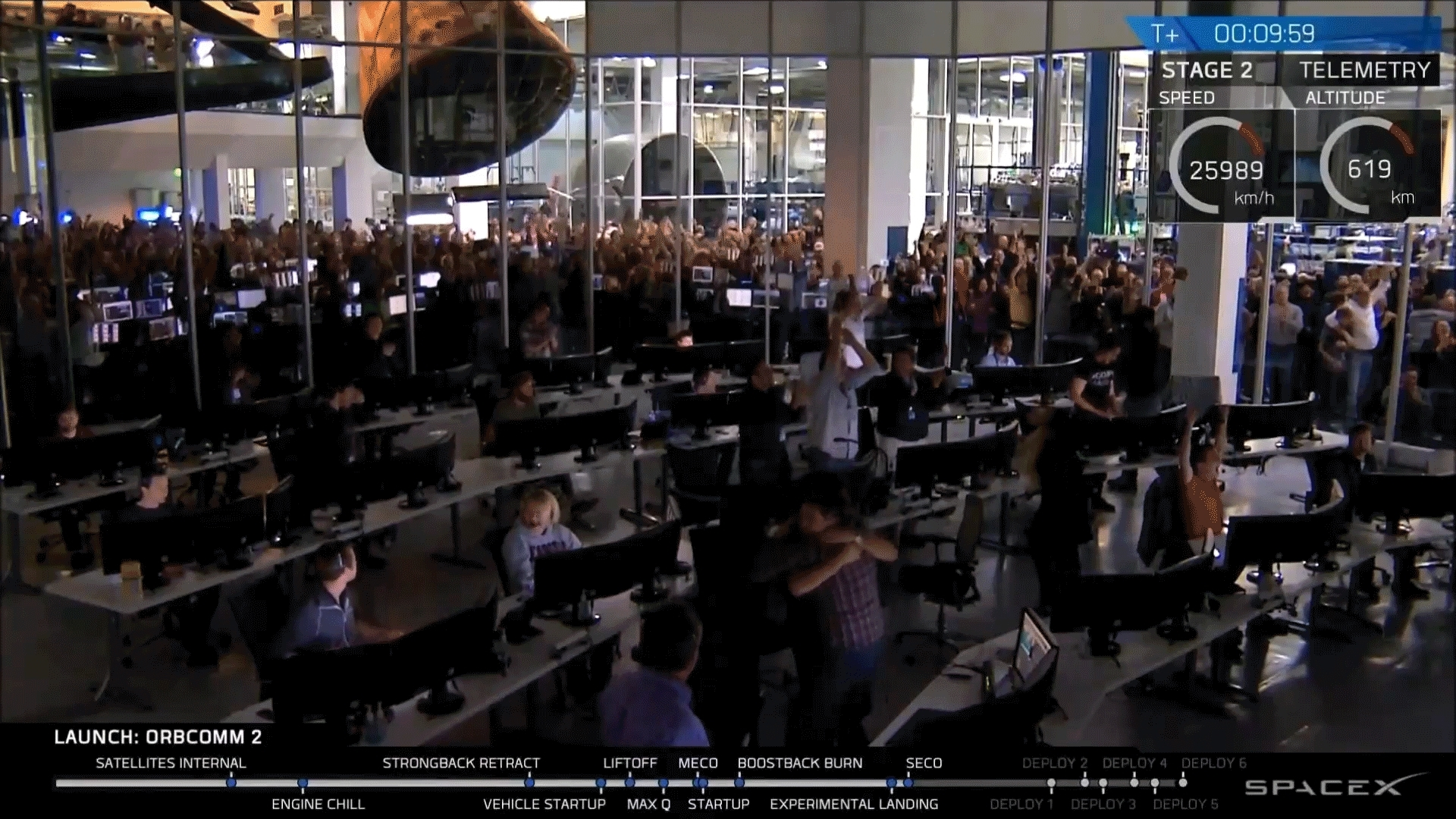 cinemagraphs, spacex, SpaceX Celebration GIFs