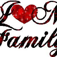 Watch and share I Love My Family animated stickers on Gfycat