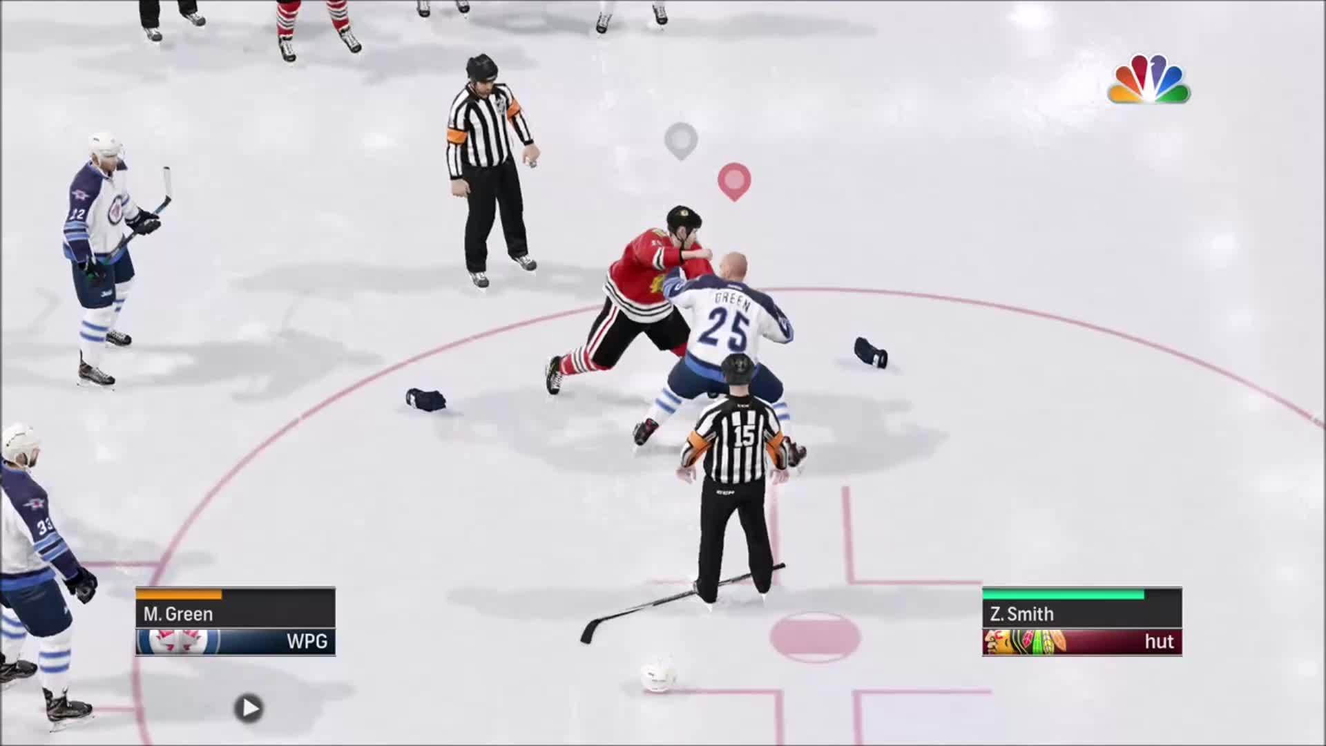 nhlhut, Good to see fighting is perfectly polished (reddit) GIFs