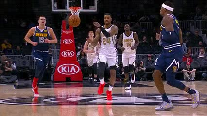 Watch John Collins — Atlanta Hawks GIF by Off-Hand (@off-hand) on Gfycat. Discover more 120818 GIFs on Gfycat
