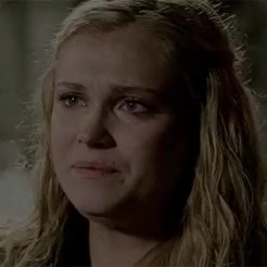 Watch and share Clarke Griffin GIFs and Abby Griffin GIFs on Gfycat