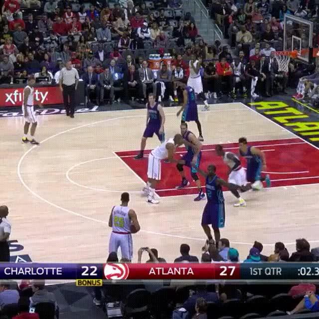 Watch Atlanta Hawks GIF by Rabit (@rsroya) on Gfycat. Discover more basketball, nba GIFs on Gfycat