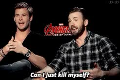 Watch uncensored side blog; GIF on Gfycat. Discover more aou press tour, bearded chris evans, chris evans, chris evans gifs, chris evans is a precious han solo fanboy with chiseled cheekbones, chris hemsworth, chrisevansedit, my stuff GIFs on Gfycat