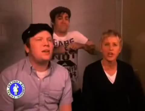 Watch and share Ellen Degeneres GIFs and Patrick Stump GIFs on Gfycat