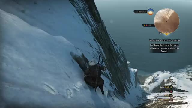 Watch Sliding GIF by AbstraxioN (@zhooper04) on Gfycat. Discover more Funny, Gaming, Mountains, Sliding, The Witcher 3 GIFs on Gfycat