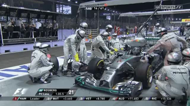 Watch and share Rosberg In Pit, Waving Hands. Cant Shift From N. GIFs by aamantubillah on Gfycat