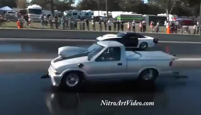Watch and share No Guts No Glory Truck's Pick Up's N/T Drag Racing Track Time Grudge No Guts No Glory GIFs on Gfycat