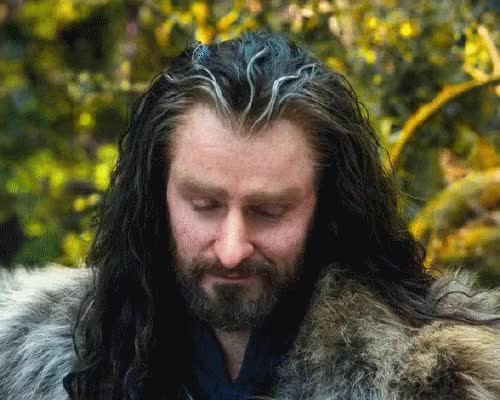 Watch and share Thorin Oakenshield GIFs and Richard Armitage GIFs on Gfycat