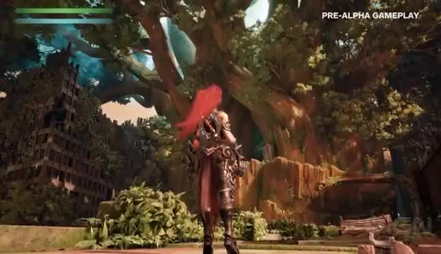 Watch and share Darksiders 3 Gameplay Reveal - IGN First GIFs on Gfycat