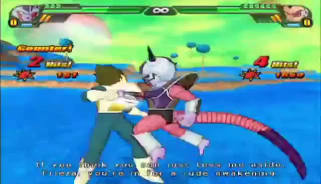 "Watch and share DBZ Budokai Tenkaichi 3 ""Vegeta Ball"" GIFs on Gfycat"