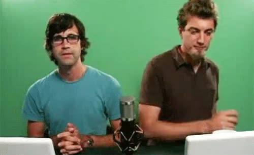 Watch and share Rhett Mclaughlin GIFs and Awkward Silence GIFs on Gfycat