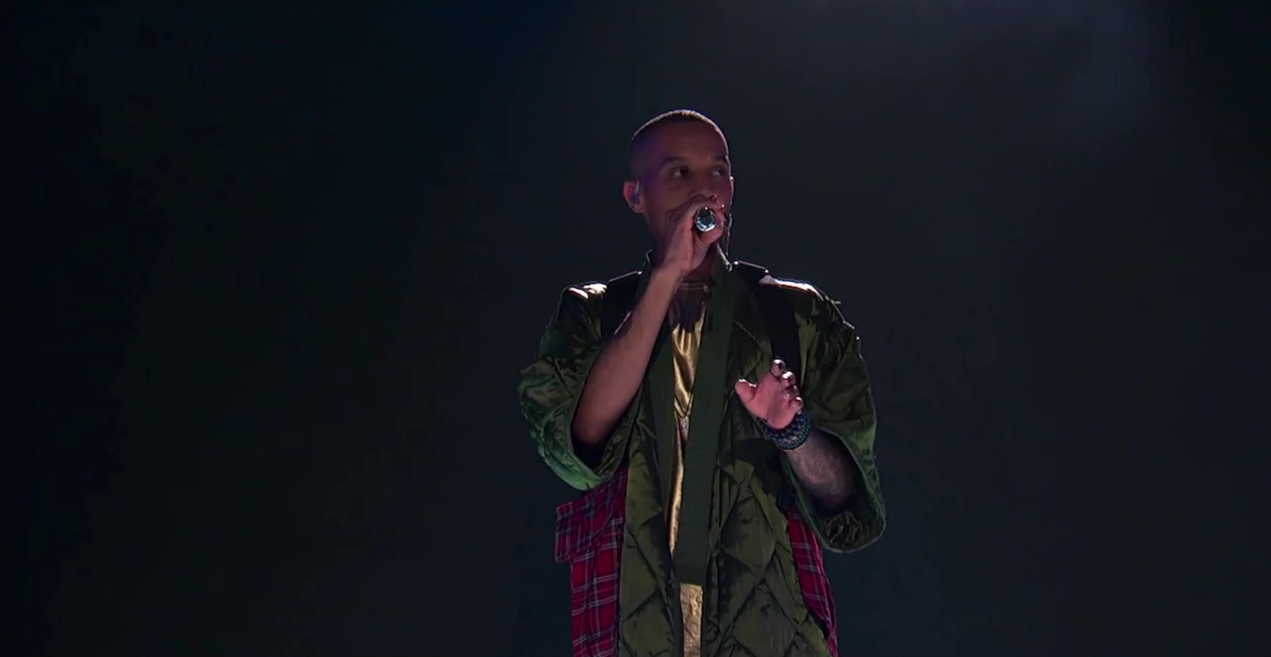american idol, american idol season 17, americanidol, dimitrius graham, katy perry, lionel richie, luke bryan, ryan seacrest, season 17, singing, American Idol Dimitrius Starting His Performance GIFs