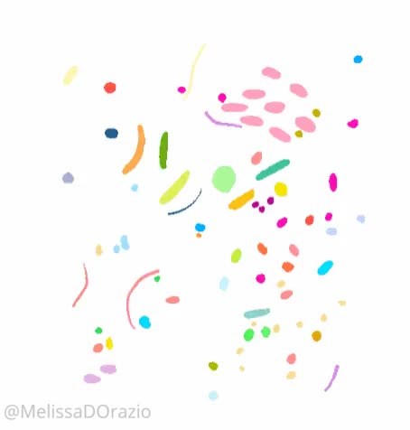 Watch and share Here's One Of My Loops, Each Blob Has It's Own Little Journey! [A] GIFs on Gfycat