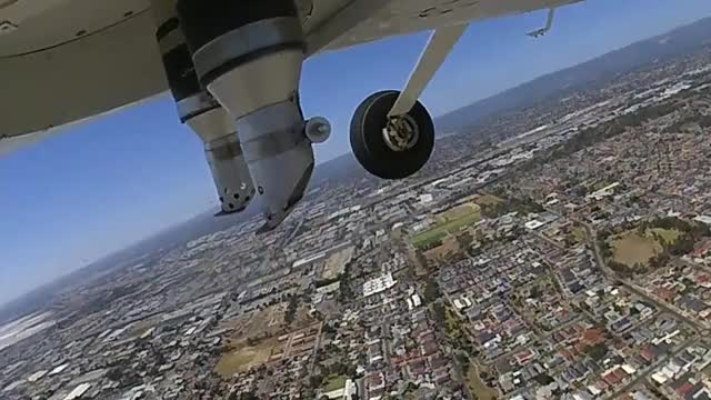 Watch Under plane footage GIF on Gfycat. Discover more related GIFs on Gfycat