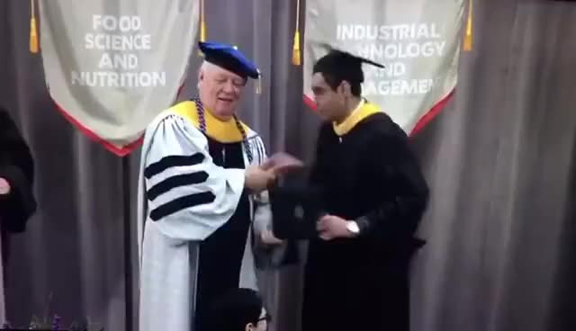 Watch Indian student touched the Dean's feet at the IIT Chicago GIF on Gfycat. Discover more related GIFs on Gfycat