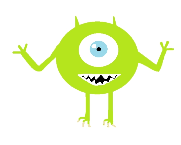 blinking, boo, cartoon, looking, monster, monsters, movie, scary, Cute One-Eyed Monster GIFs