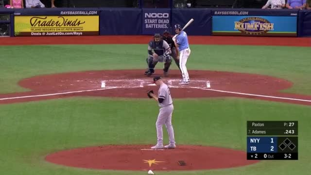 Watch and share Tampa Bay Rays GIFs and Baseball GIFs on Gfycat