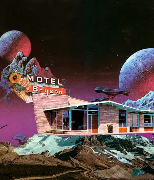 Watch Spatial Madness GIF on Gfycat. Discover more 50s motel, 70s art, 70s sci fi, art, collage, collage art, design, digital art, flowers, gif warning, moon, motel, mountains, planets, plants, retro, retro motel, sci fi art, snow, space, space art, stars, surreal art GIFs on Gfycat