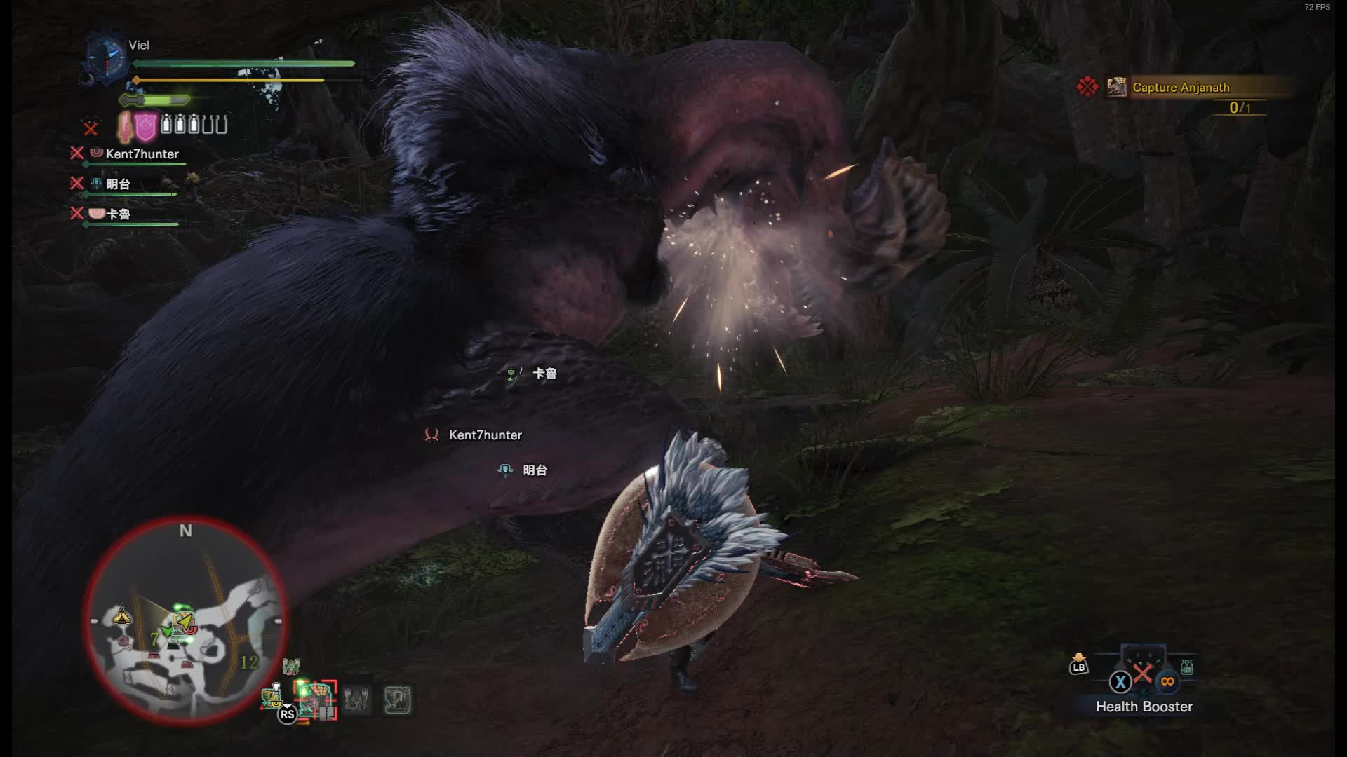 ▷ MHW Dodogama stylish tail cut GIF by noctisanima - Find