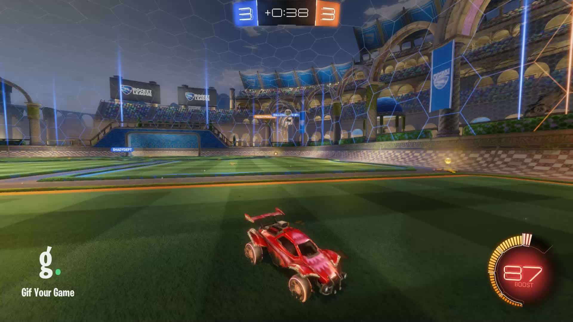 Gif Your Game, GifYourGame, Panthers   BroKroki, Rocket League, RocketLeague, Goal 7: Panthers   BroKroki GIFs