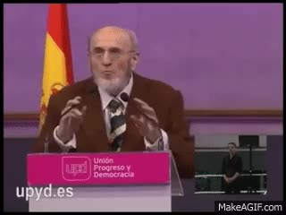 Watch and share Mejores Momentos De Álvaro Pombo En Vistalegre 03-04-11 GIFs on Gfycat