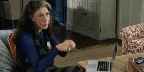 Watch and share Grace And Frankie GIFs and Computer GIFs on Gfycat