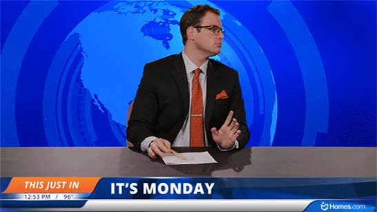 Watch and share Case Of The Mondays GIFs on Gfycat