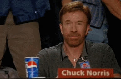 Chuck Norris, kiss, yes, yes animated GIFs