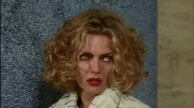Watch and share Michelle Pfeiffer GIFs and Eye Roll GIFs by Reactions on Gfycat