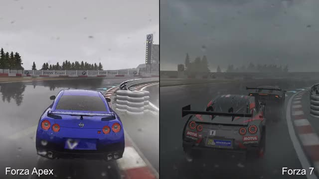 Watch and share Graphics Comparison GIFs and Forza Motorsport 7 GIFs on Gfycat