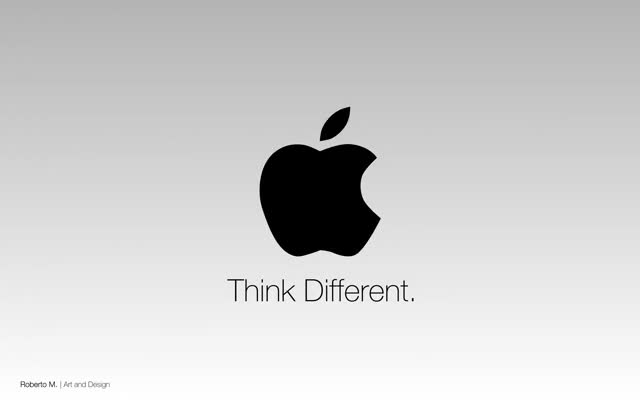 Watch and share Think Different GIFs and Steve Jobs GIFs on Gfycat