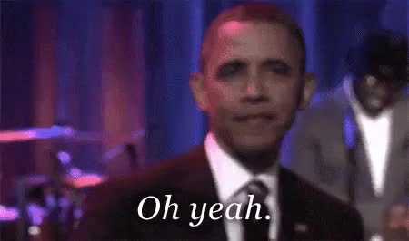 Watch and share Barack Obama GIFs and Oh Yeah GIFs on Gfycat