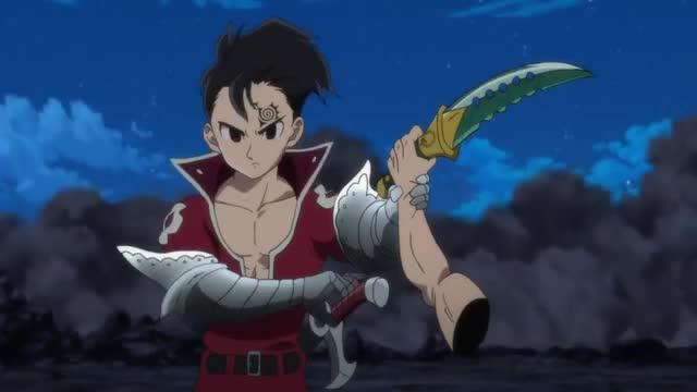 Watch Meliodas vs Ten Commandments - Full Fight HD   Nanatsu no Taizai GIF on Gfycat. Discover more anime, animeconnectpeople, meliodas GIFs on Gfycat