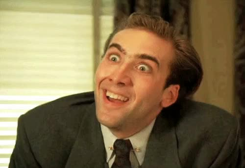 Watch and share Nic Cage Eye Contact GIFs on Gfycat