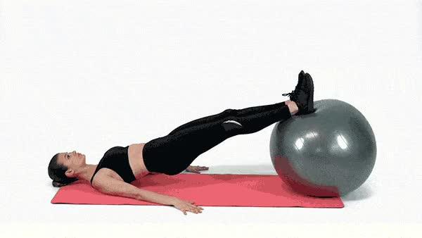 Watch and share 202-swiss-ball-leg-curls-1550761008 GIFs on Gfycat