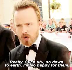 Watch this trending GIF on Gfycat. Discover more *, aaron paul, brbaedit, gif, he is so cute stab me, int GIFs on Gfycat