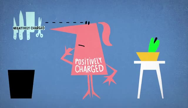 Watch and share The Science Of Static Electricity - Anuradha Bhagwat GIFs on Gfycat