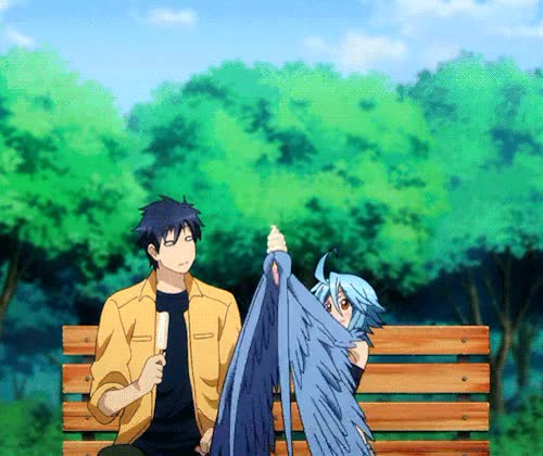Watch and share Monster Musume GIFs and Mypost GIFs on Gfycat