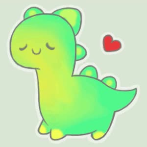 Watch and share Cute Dinosaur GIFs on Gfycat