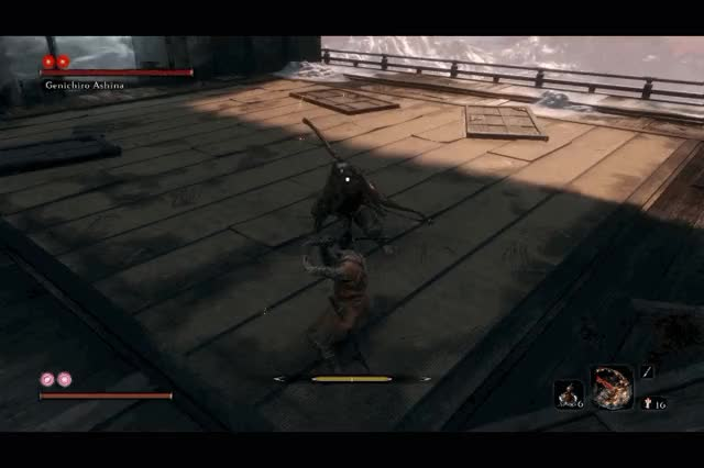 Watch and share Sekiro GIFs by sorodoryu on Gfycat