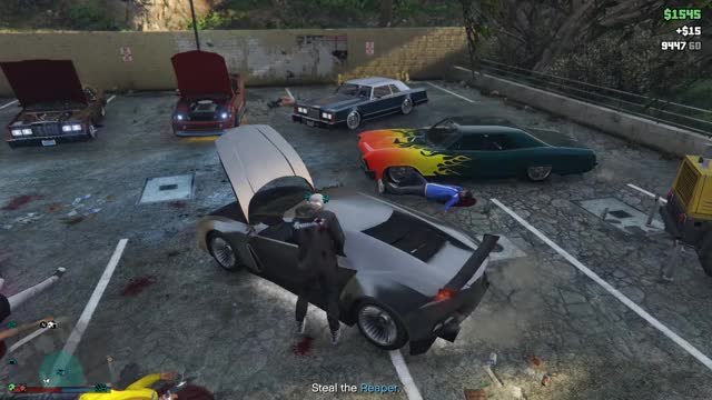 Watch Grand Theft Auto V 2018.08.26 - 19.19.55.05.DVR Trim GIF on Gfycat. Discover more grandtheftautov GIFs on Gfycat