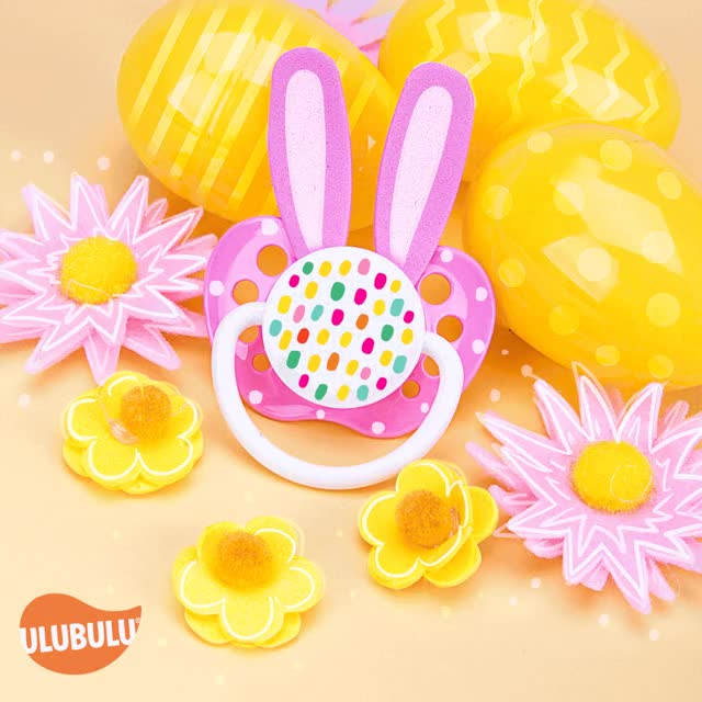 Watch and share Easter Luisa Leal Pacifiers GIFs on Gfycat