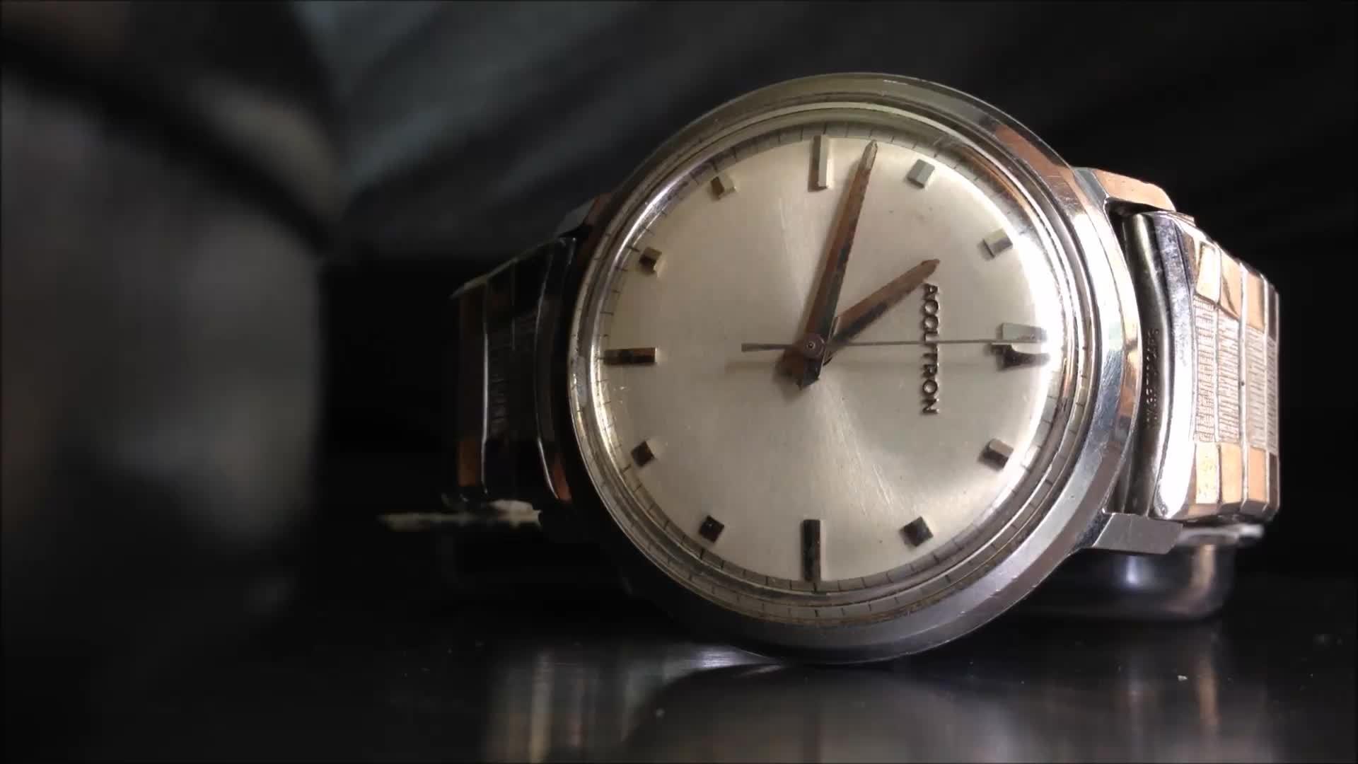 Watches, watches, Accutron GIFs