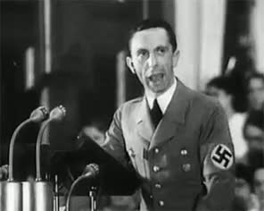 "Watch Goebbels speaks… "" LEGENDARY SPEECH HAND STRIKES AGAIN GIF on Gfycat. Discover more related GIFs on Gfycat"
